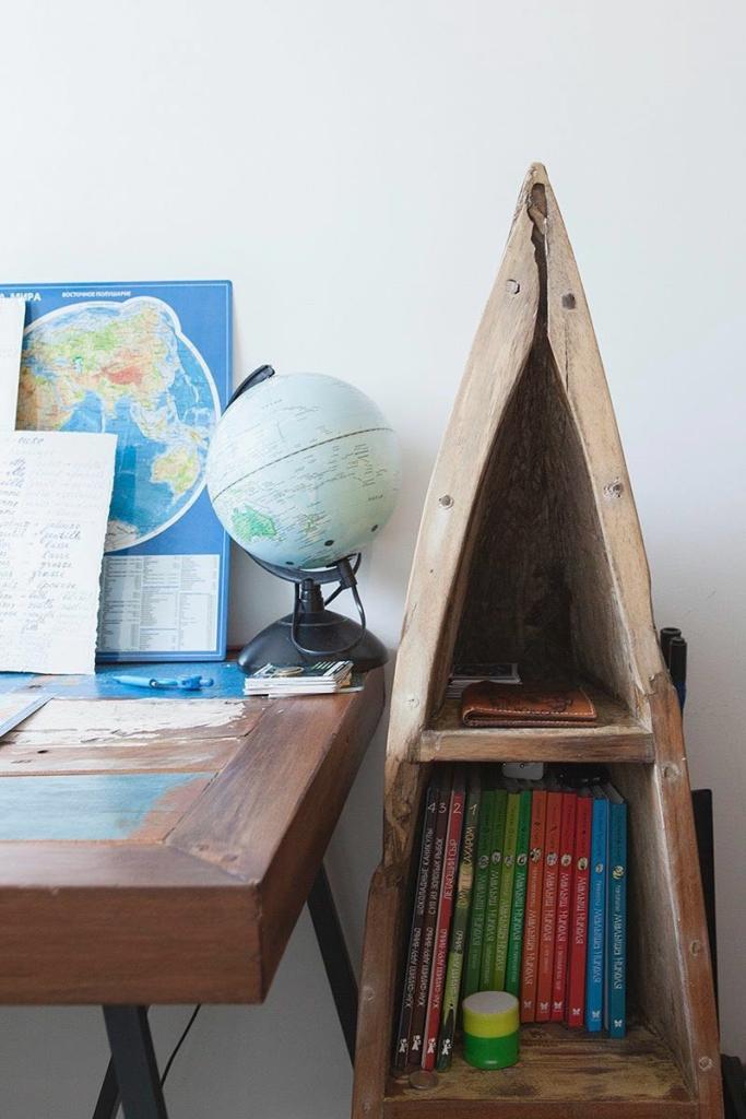 шкаф-лодка в детской