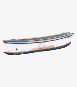 Целая лодка Putih