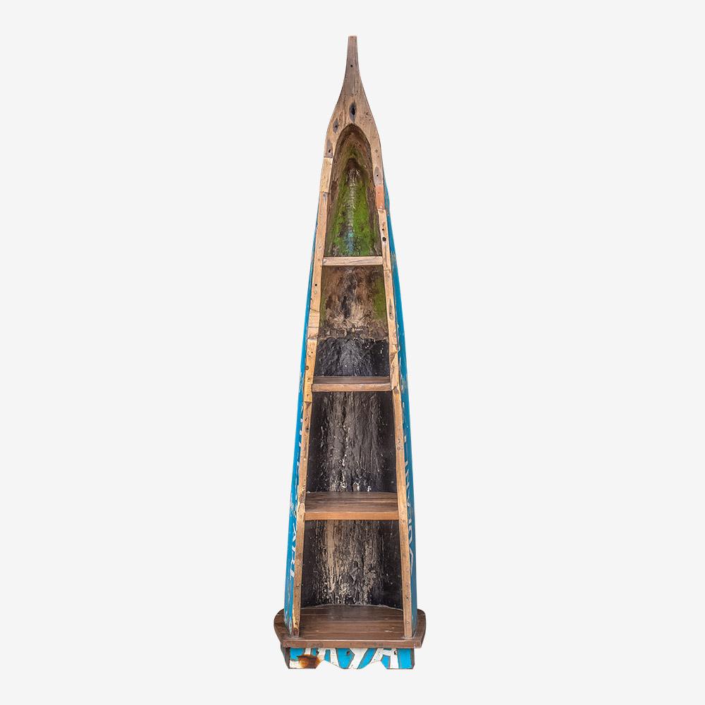 Стеллаж из лодки