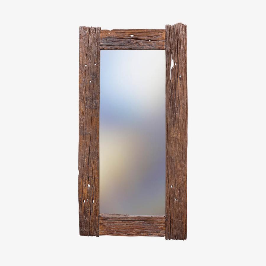 Зеркало из старого тика 200