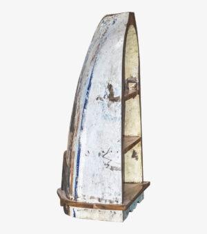 Стеллаж из лодки малый Микеланджело