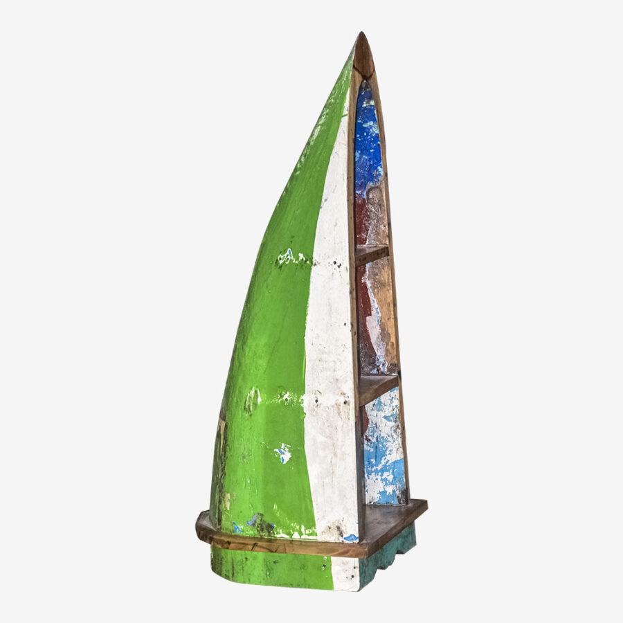 Стеллаж из лодки малый Кунс